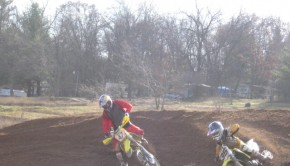 Travis Pastrana and a young Joey Crown